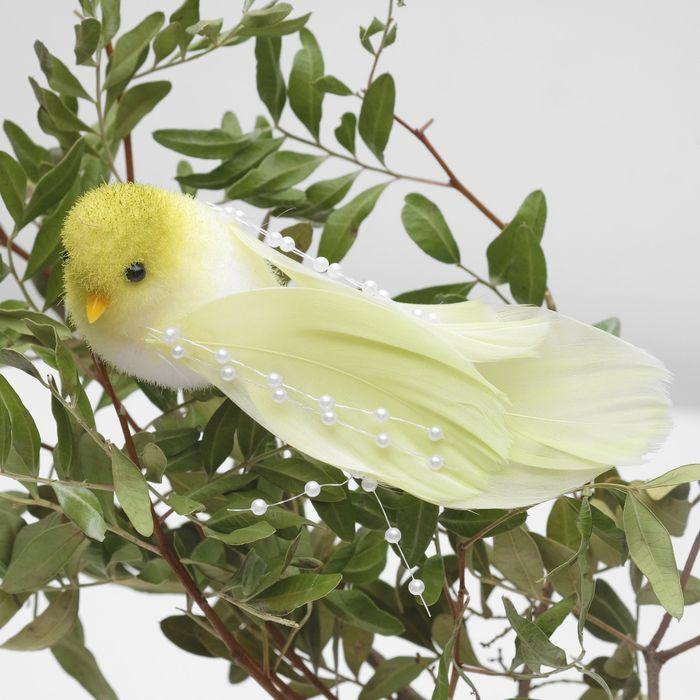 Декор птица 13 х 4 х 4 см в ассортименте