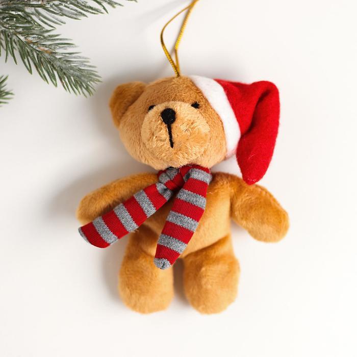 Мягкая игрушка-подвеска «Новый Год», виды в ассортименте