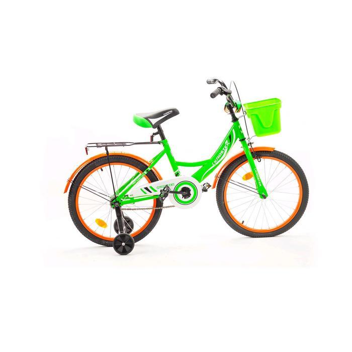 "Велосипед 20"" KROSTEK WAKE, цвет зеленый"