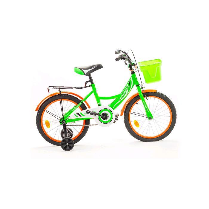 "Велосипед 18"" KROSTEK WAKE, цвет зеленый"
