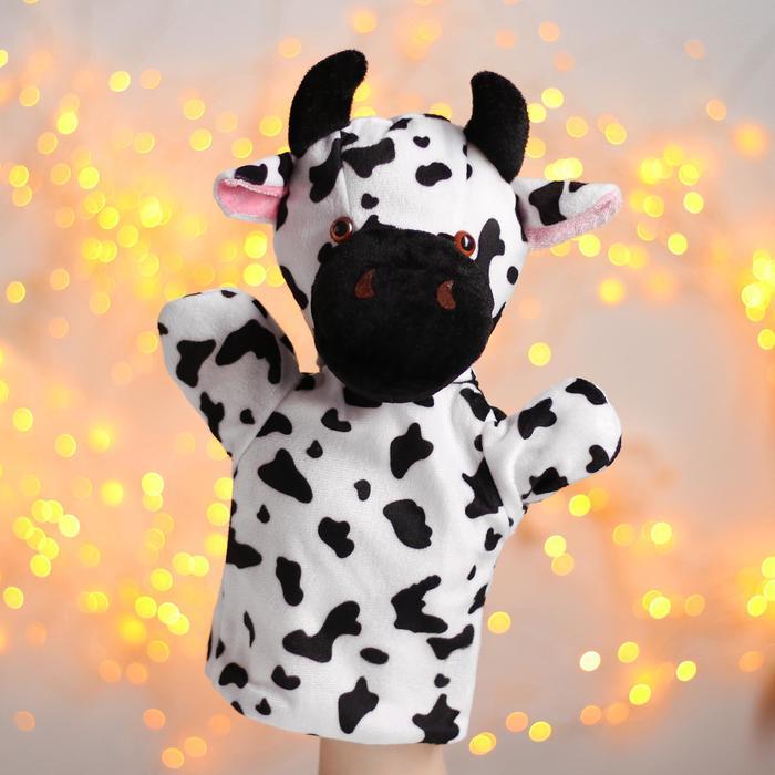 Игрушка на руку «Пятнистая корова»