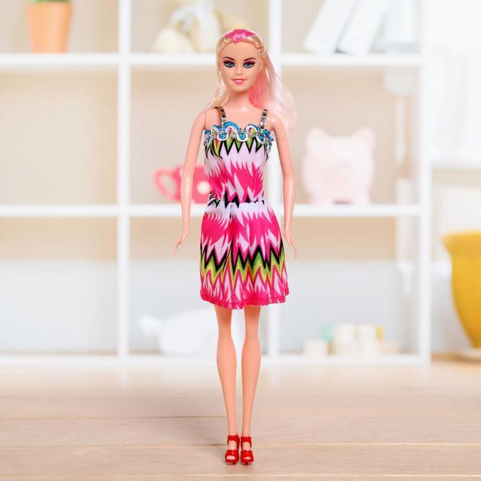 Кукла модель «Рита» в платье, в ассортименте