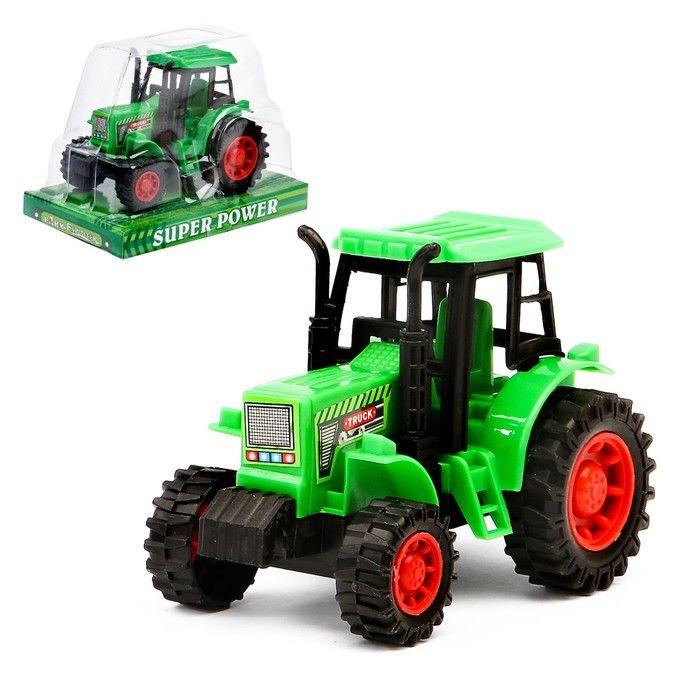 Трактор инерционный «Фермерский», цвета в ассортименте