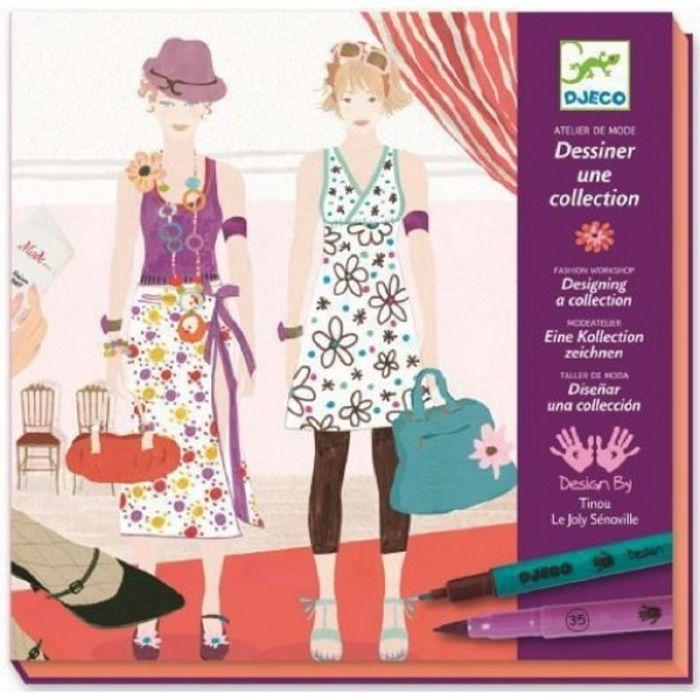 Раскраска «Дизайнер одежды»