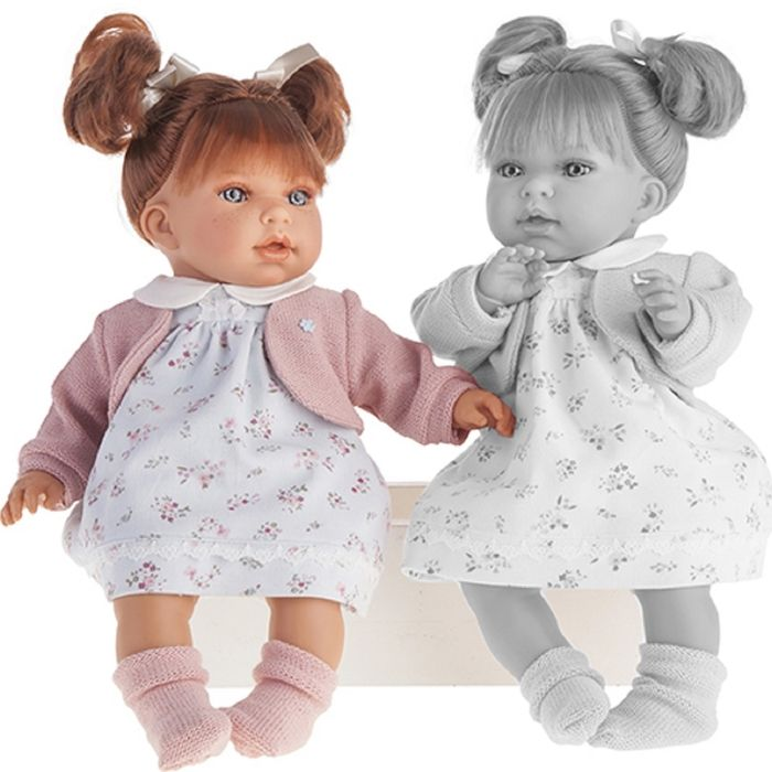 """Кукла """"Лорена"""" в белом, озвученная"""