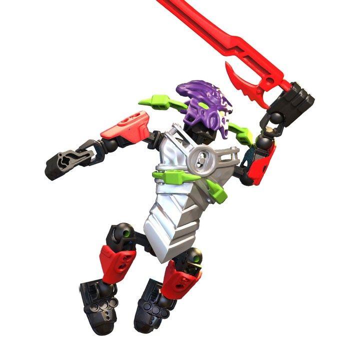 Конструктор-робот «Воин Духа», 21 деталь, в пакете