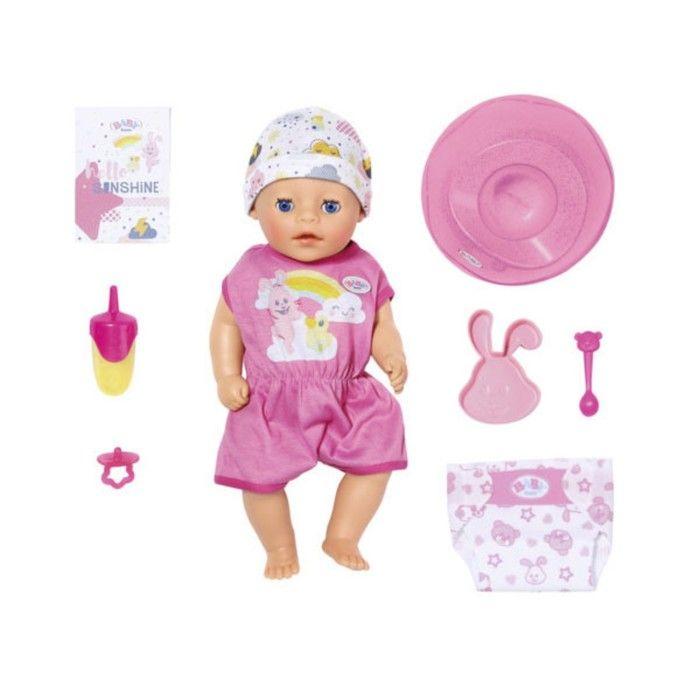 Кукла интерактивная Baby born Нежное прикосновение «Девочка», 36 см