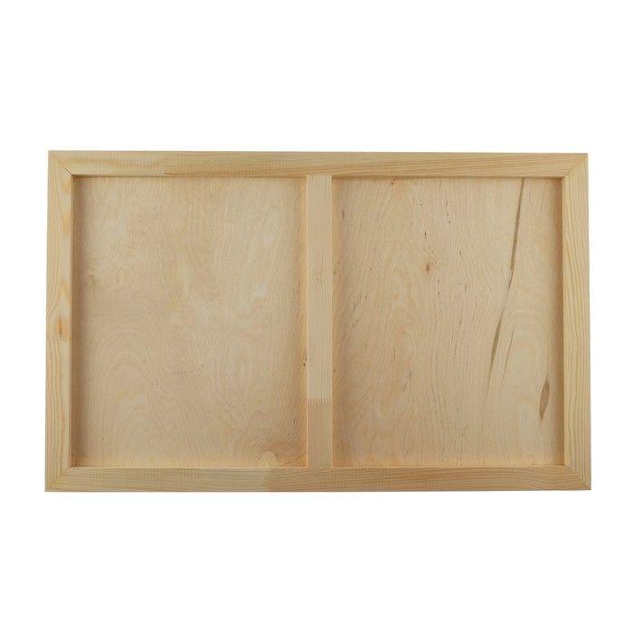 Планшет деревянный 50 х 80 х 2 см, фанера (для рисования эпоксидной смолой)