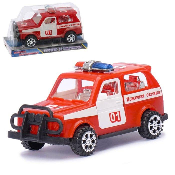 Машина инерционная «Пожарная охрана», открываются двери