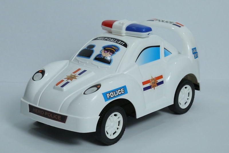Машина полицейская, инерционная, 15,5х30х16см