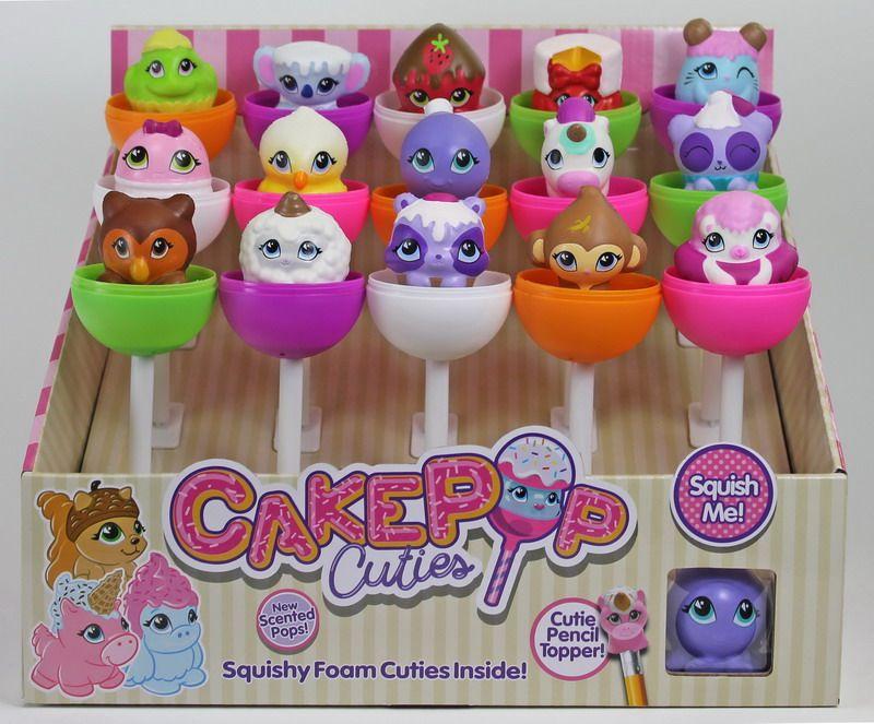 Игрушка в индивидуальной капсуле Cake Pop Cuties, 2 серия, 15 шт. в дисплее, 16 видов в ассортименте