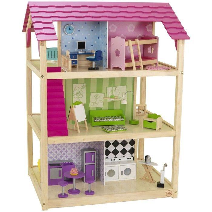 Кукольный домик для Барби «Самый роскошный», с мебелью, 45 элементов