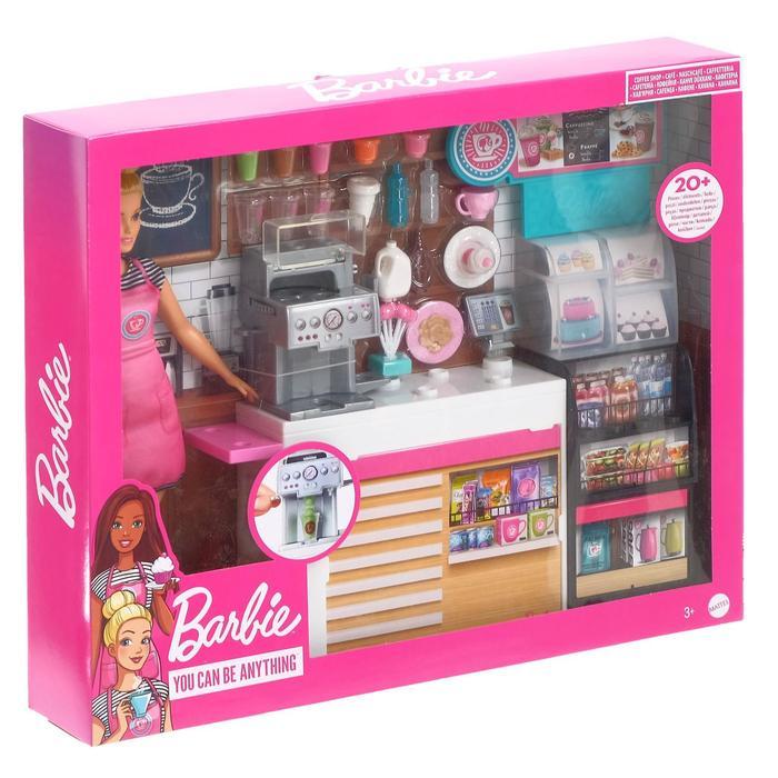 Игровой набор «Кофейня» GMW03, Barbie