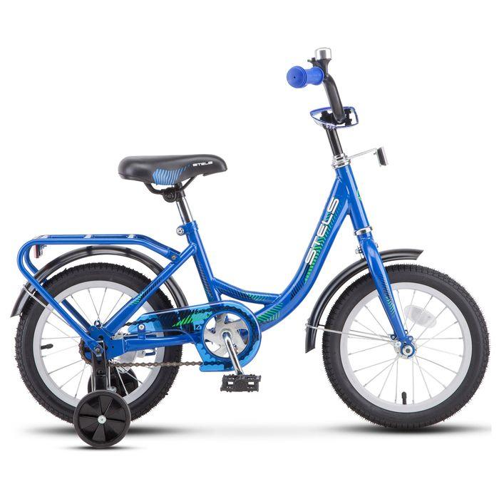 """Велосипед 18"""" Stels Flyte, Z011, цвет синий"""