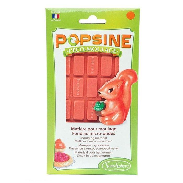 Дополнительный набор для творчества POPSINE, оранжевый, 110 г