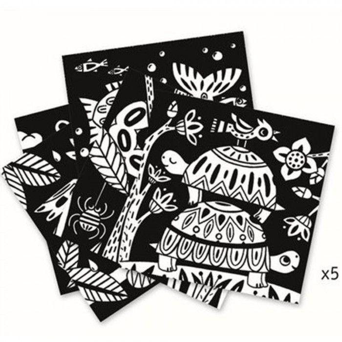 Бархатные раскраски «Черепахи»