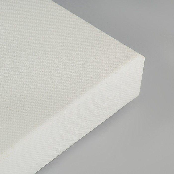 Холст на подрамнике, хлопок 100%, акриловый грунт, 3 х 30 х 60 см, среднезернистый, 380 г/м²