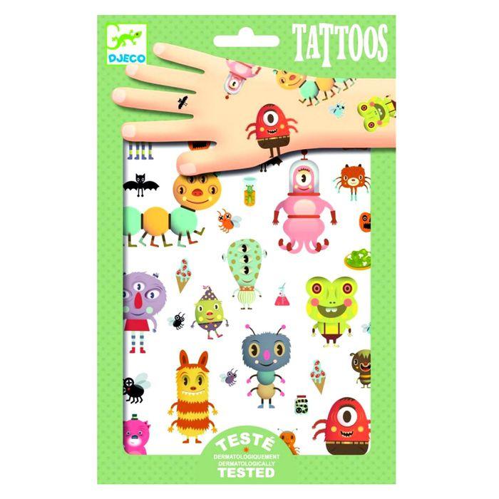 Набор татуировок «Монстры»
