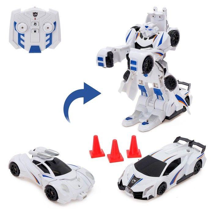 Робот-трансформер радиоуправляемый «Авторобот», световые и звуковые эффекты