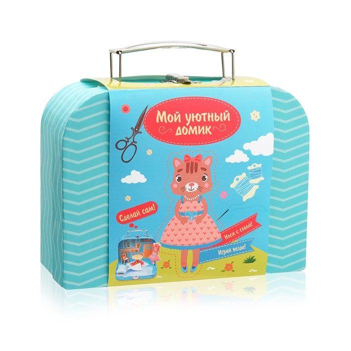 Игровой набор для детского творчества Мой уютный домик «Кошечка», МИКС