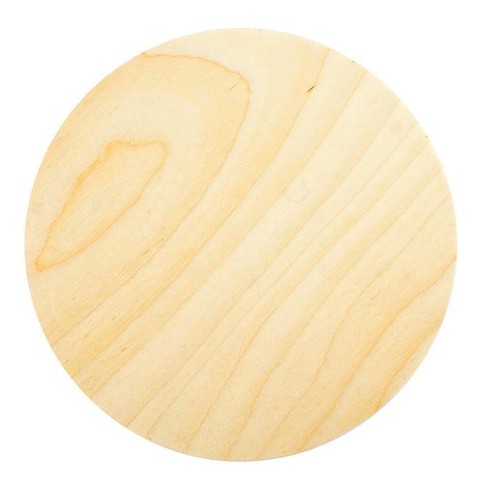 Планшет круглый деревянный фанера 2 см d-20 см Calligrata