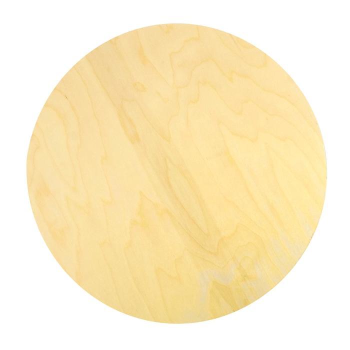 Планшет круглый деревянный фанера 2см d-45 см Calligrata