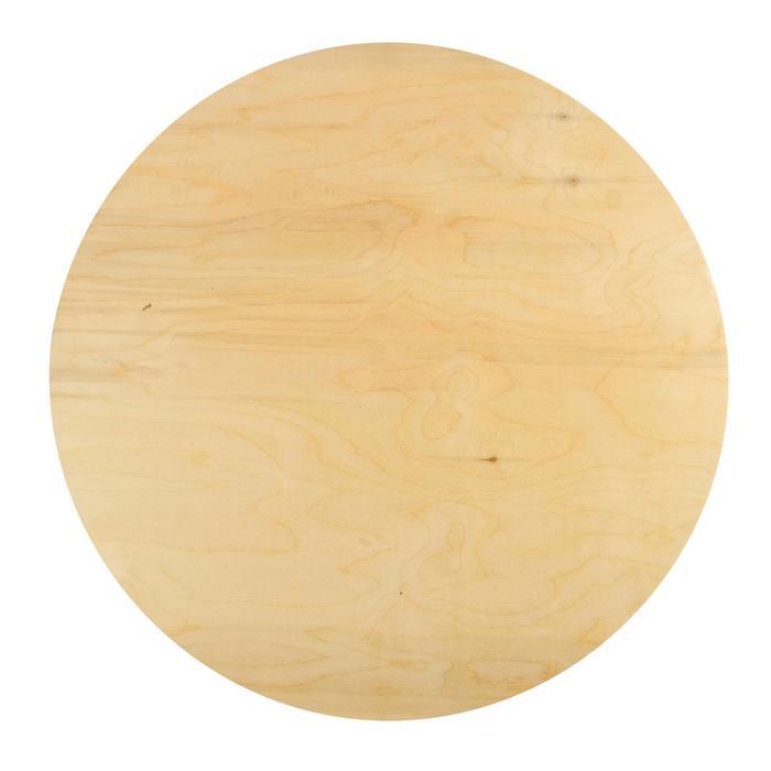 Планшет круглый деревянный фанера 2см d-60 см Calligrata