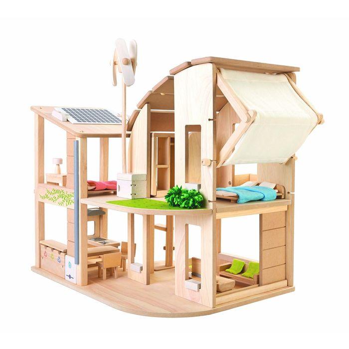 Кукольный эко-дом с аксессуарами