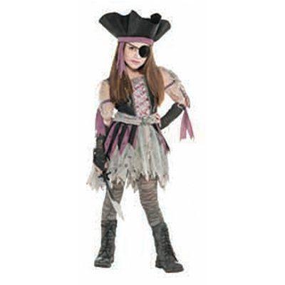 Костюм детский Пиратка Призрак Girl S