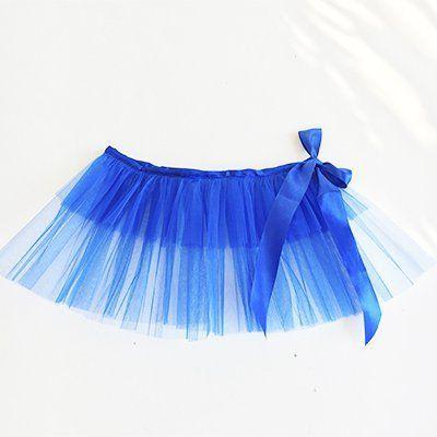 Юбка-пачка (туту) детская синяя