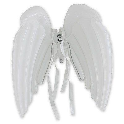 Крылья надувные Ангел, белые