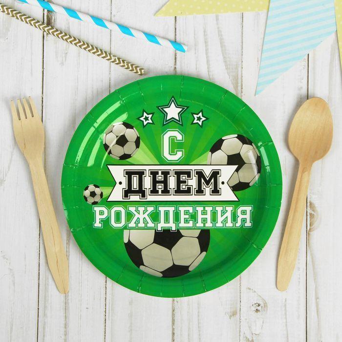 """Тарелка бумажная """"Мячи"""""""