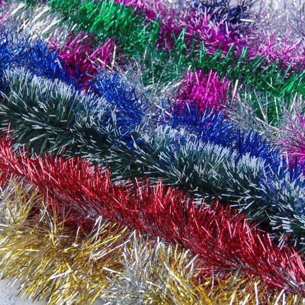 Мишура разноцветная 10,5 х 340см микс ассорти