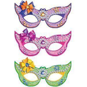 Карнавальные маски бумажные Волшебные питомцы