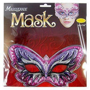 Карнавальная маска Мотылек