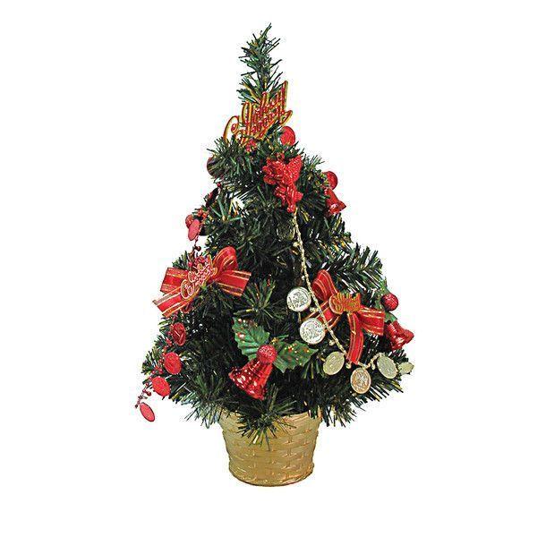 Декоративная елка с украшениями, 40 см