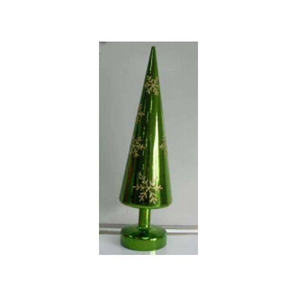 """Новогодняя конусообразная елка """"Снежинка"""", 30 см"""