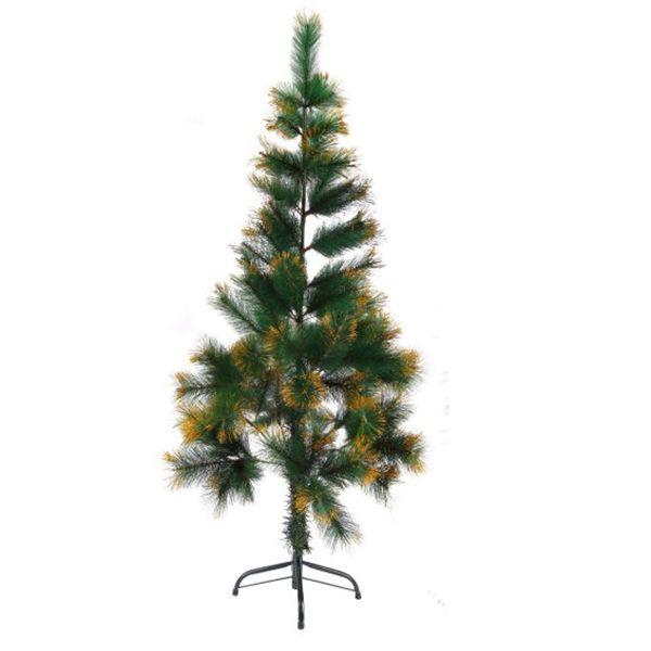 """Новогодняя елка """"Сосна"""", золотистая, 120 см"""