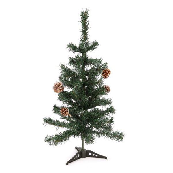 Новогодняя елка с шишками, 60 см