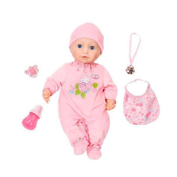 Кукла Беби Анабель 10 версия (звук, плачет, писает, с мимикой), 43 см