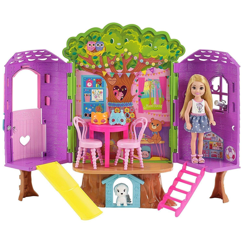 """Игровой набор Barbie """"Домик на дереве Челси"""""""
