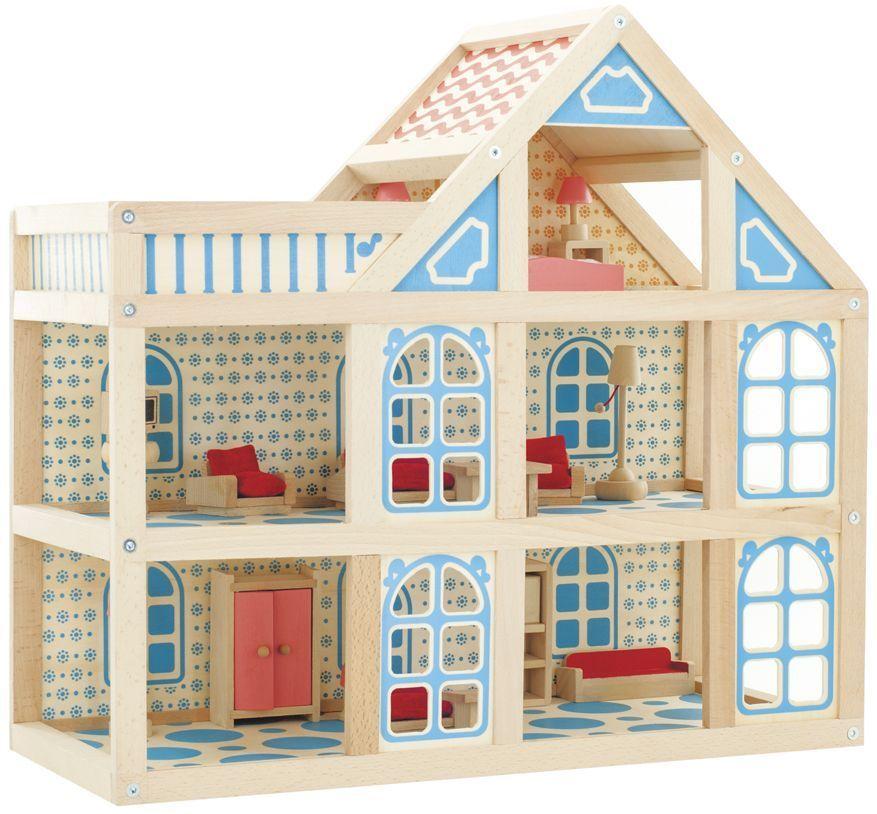"""Игровой набор """"Кукольный дом"""", 3 этажа"""