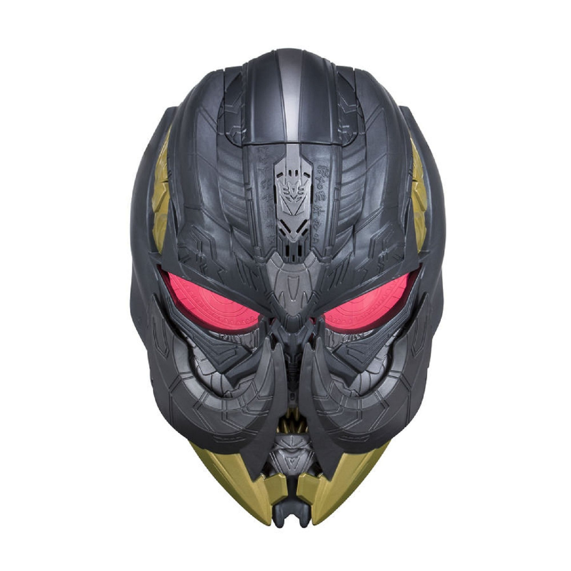 """Электронная маска """"Трансформеры 5: Последний рыцарь"""" - Мегатрон (звук)"""