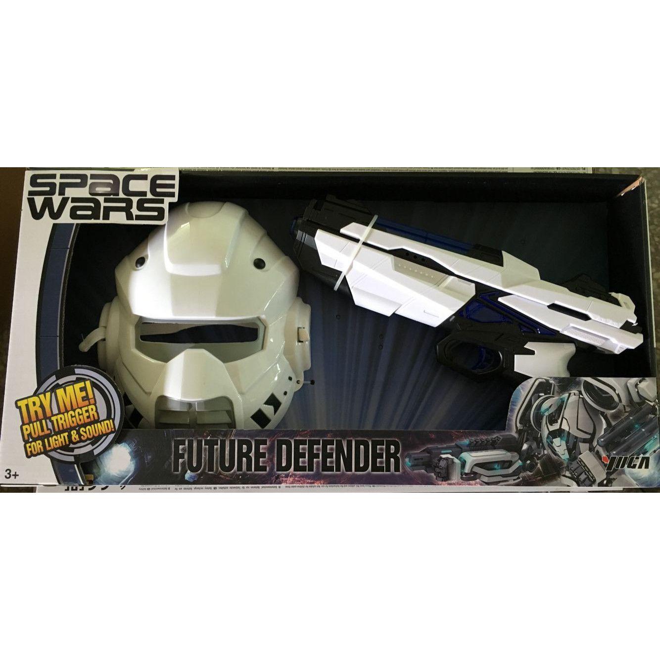 """Набор Space Wars """"Future Defender"""" - Шлем и бластер (свет, звук)"""