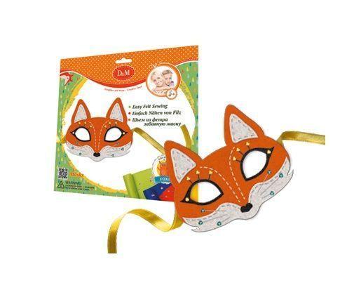 """Набор для создания маски из фетра """"Лиса"""""""