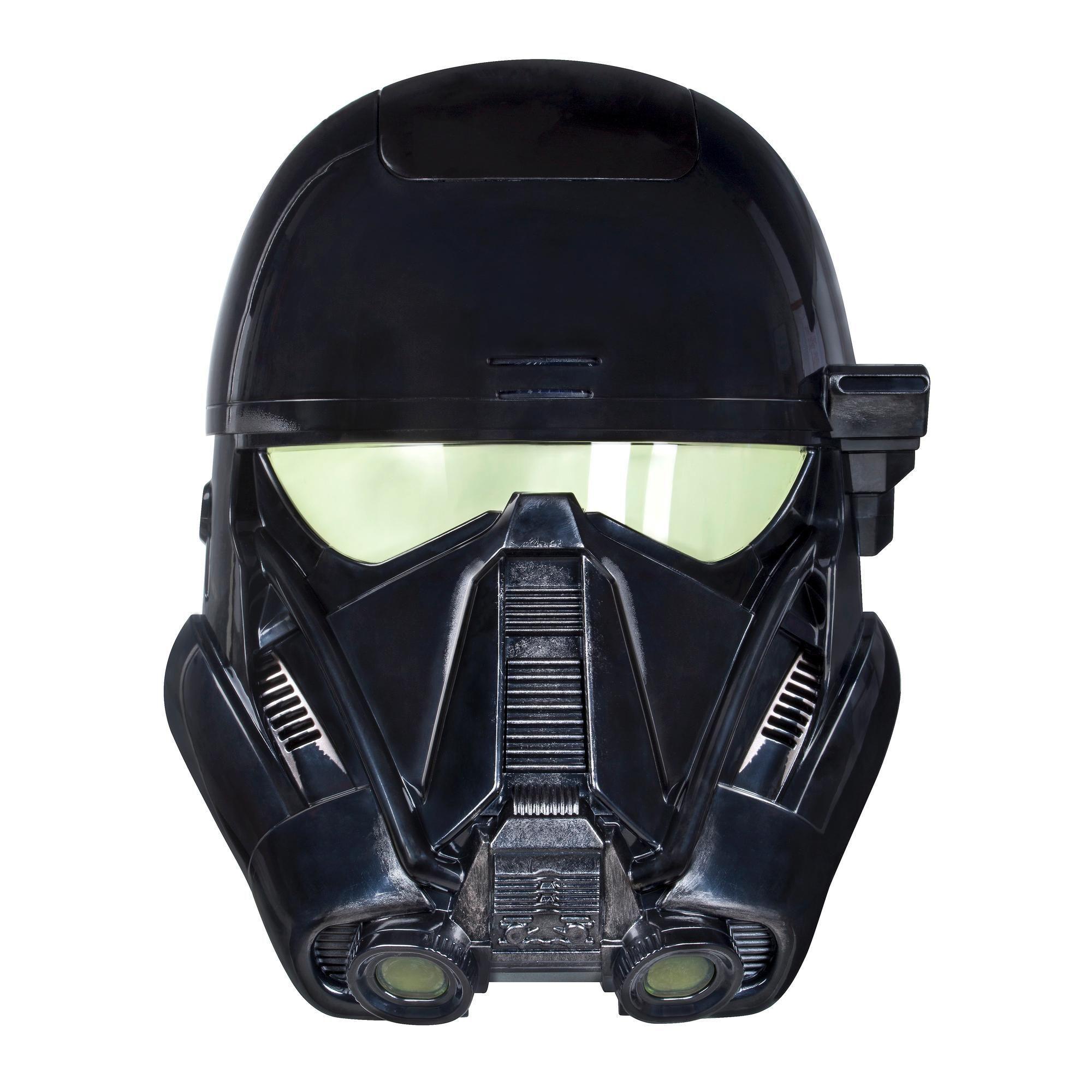 """Электронная маска штурмовика """"Звездные войны"""" (свет, звук)"""