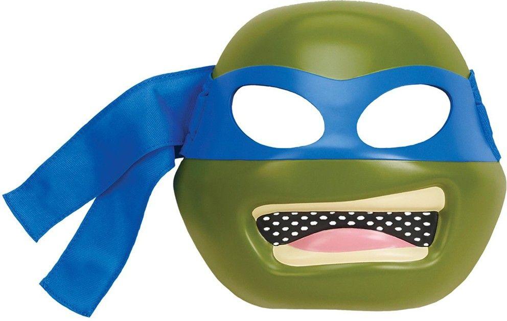 """Детская маска """"Черепашки-ниндзя"""" - Леонардо"""