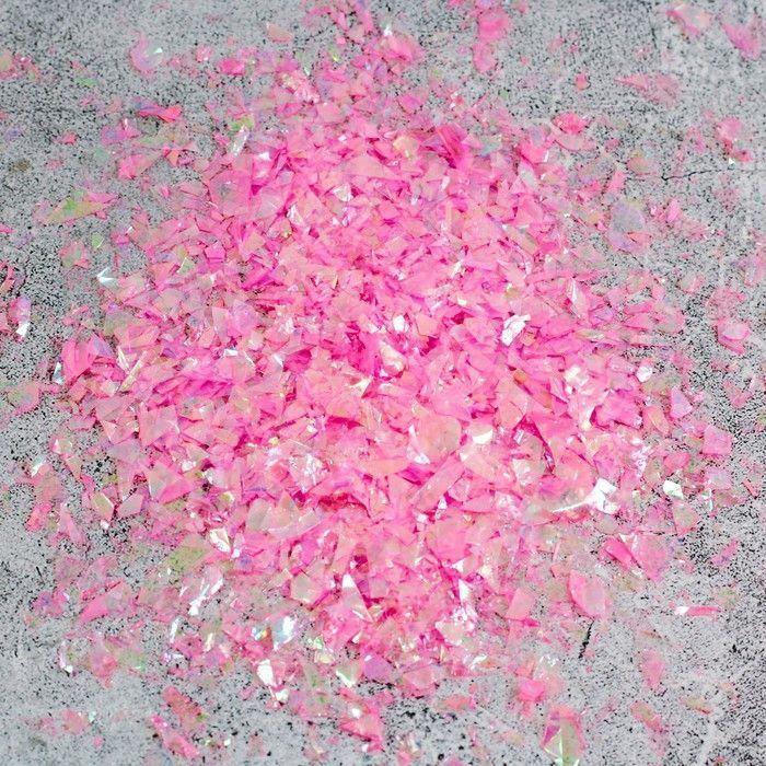 Наполнитель для шара Нити, розовый, набор 9 штук