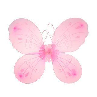 """Приставные крылья """"Бабочка"""", роз."""