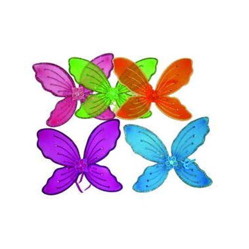 Карнавальные крылья бабочки с цветком